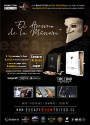 El Asesino de la Mascara - Escape Box Portatil Toledo