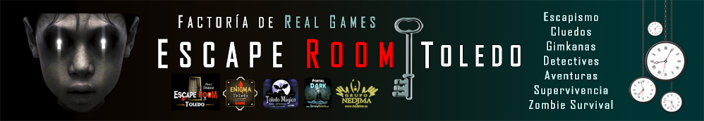 Escape Room Real Game Enigma Toledo